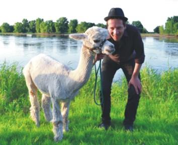 Tiergestützte Therapie Alpaka **..