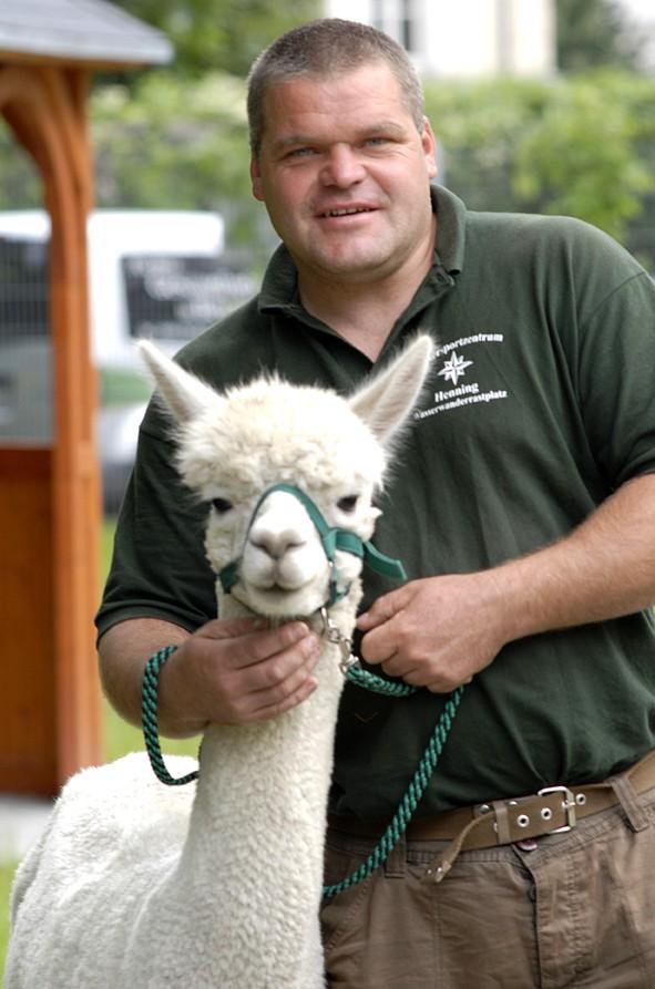 Tiergestützte Therapie Alpaka ....
